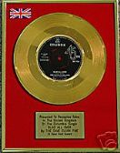 "DAVE CLARK FIVE - 7""  24 Carat Gold Disc- GLAD ALL OVER"